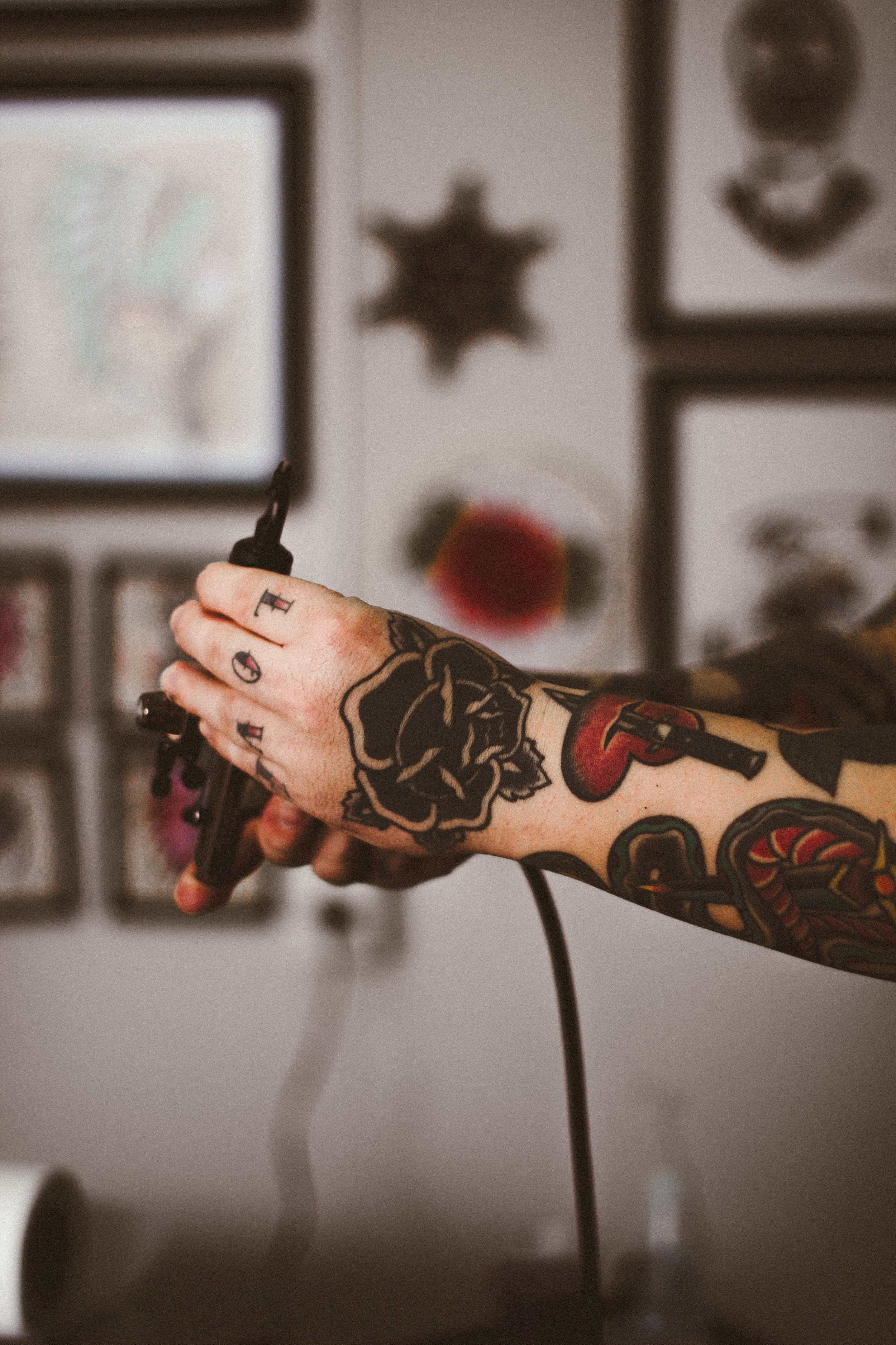 Your appointment at Emerald Tattoo Company, Talbot Green, Pontyclun, South Wales, UK