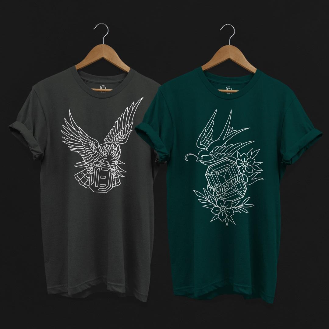 Emerald Tattoo Company Tees