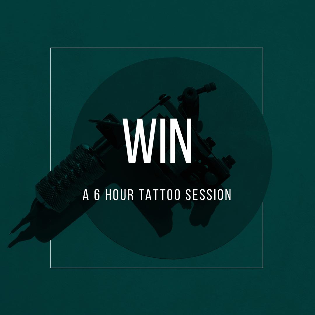 Emerald Tattoo Company - Win a 6 hour tattoo session