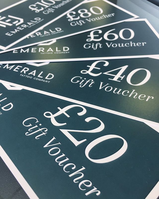 Is it ever too early to start planning for the Christmas festivities?? Don't forget you can buy gift vouchers here at the studio to treat someone to an amazing gift this Christmas! • • • • • #emeraldtattoocompany #emeraldtattoo #talbotgreen #cardiff #southwales #gift #giftvoucher #voucher #present #christmaspresent #presentideas #christmaspresentideas #giftideas #giftcard #tattoo #tattoos #tattoostudio #tattooing #tattooed #tattoolove #tattoogiftcard #tattoogift #tattoolife #ink #inked #instatattoo #tattooshop #welshtattoostudio #welshtattooshop #southwalestattoo