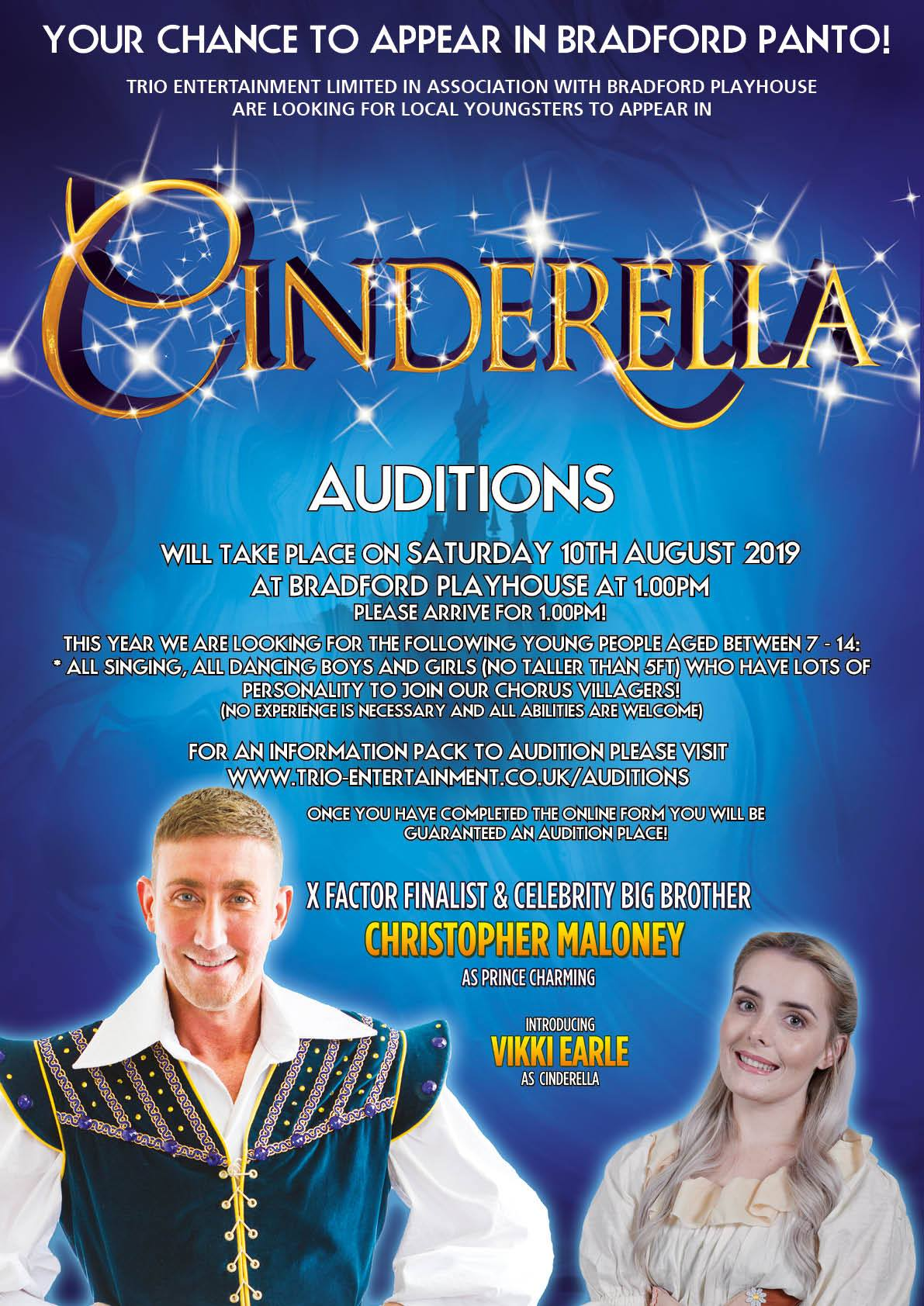 Cinderella - Bradford Auditions -