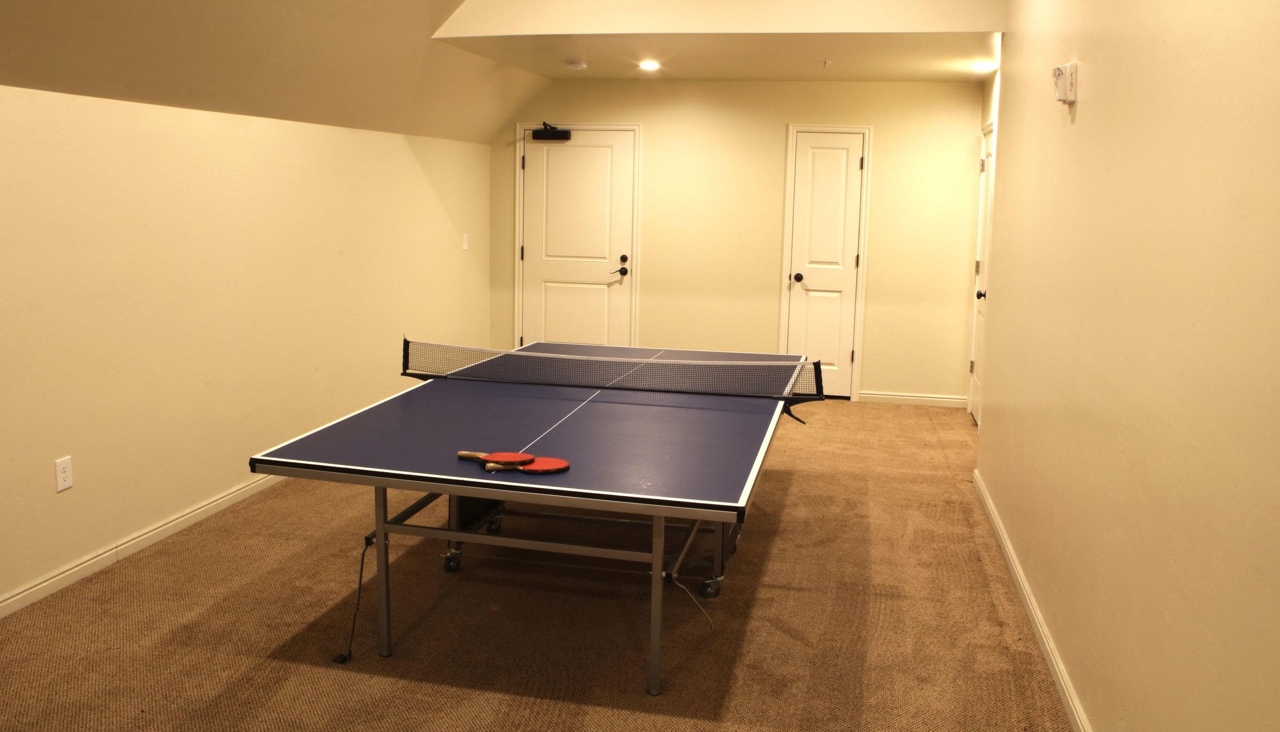 Ping Pong Table BYU Apartments Fun
