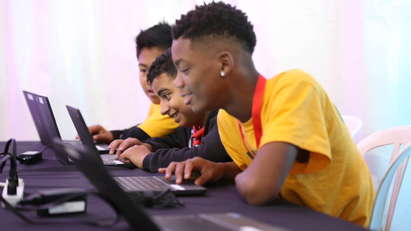 Transforming the way educators teach youth how to code. -