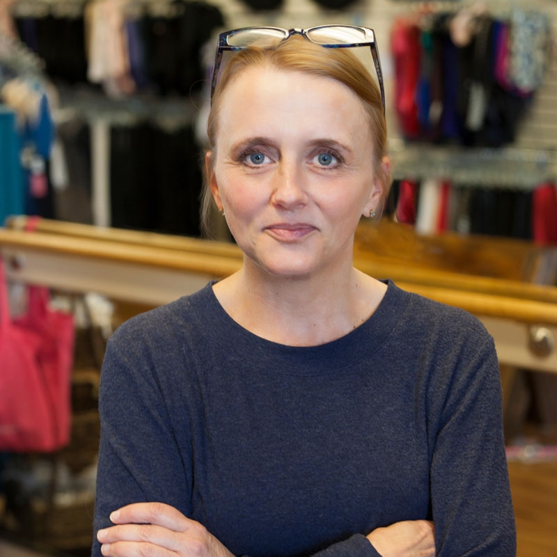 Amy, Pointe Shoe Fitter at Boulder Body Wear
