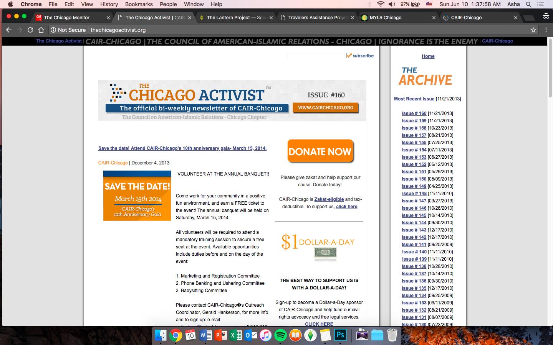 The Chicago Activist -
