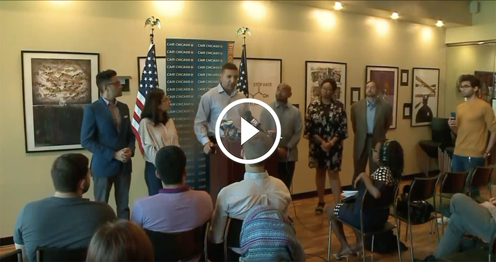 MEDIA DIGEST: CAIR-Chicago Holds Press Conference Condemning