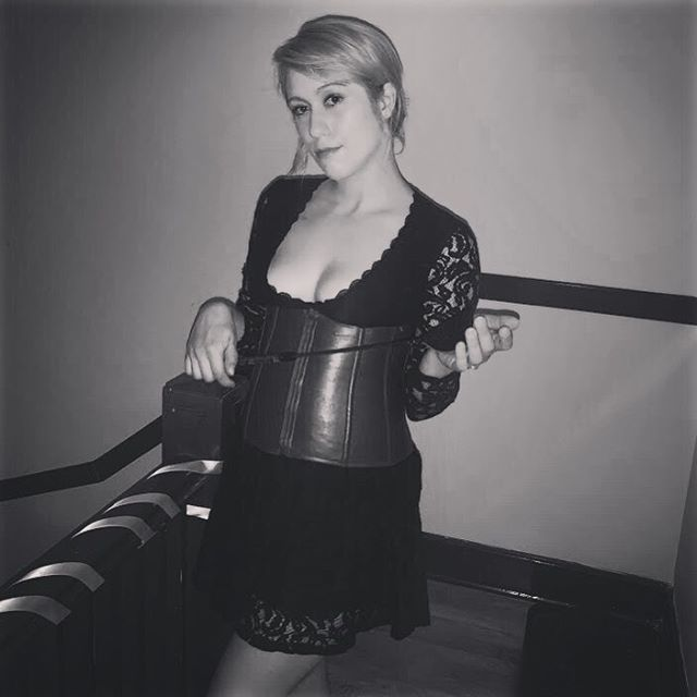 T.G.I.F. Try something new with Mistress Rebecca!