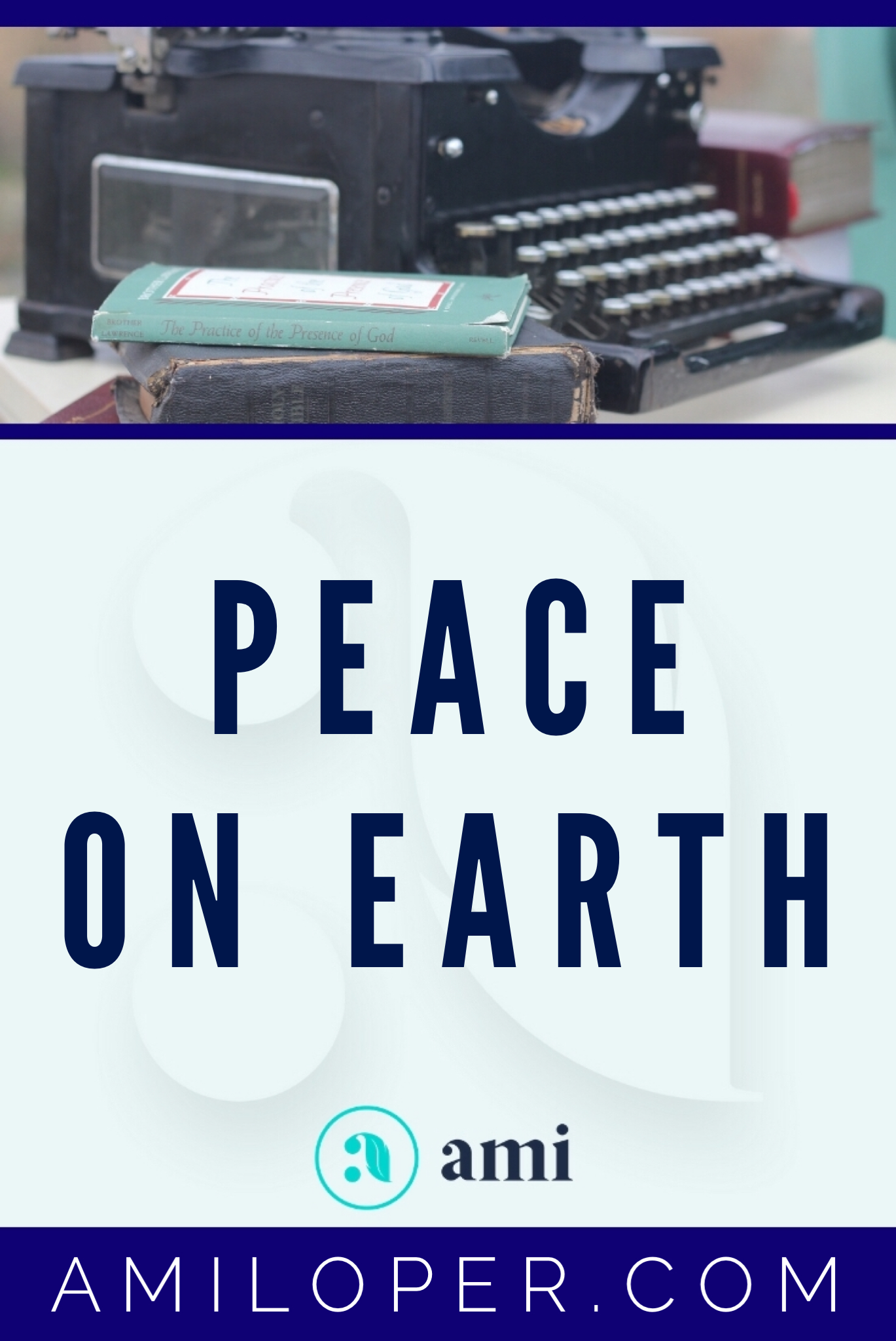 """""""Peace on Earth."""" It's a beautiful concept, but is it a bit idealistic? Have you looked around lately? There isn't much peace in this world. And yet, this is the proclamation made by the angels to the shepherds that very first Christmas night. What can they be talking about and is it available now? #PeaceOnEarth #ChristianBlog"""
