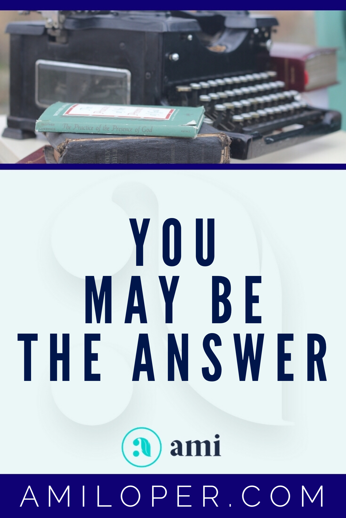 So you want to be used by God? Who doesn't!? Here's a simple way that you can cooperate with what God is doing — and anyone can do it! Someone may be praying for a loved one right now — and You May Be the Answer! #HelpingOthers #ChristianBlog