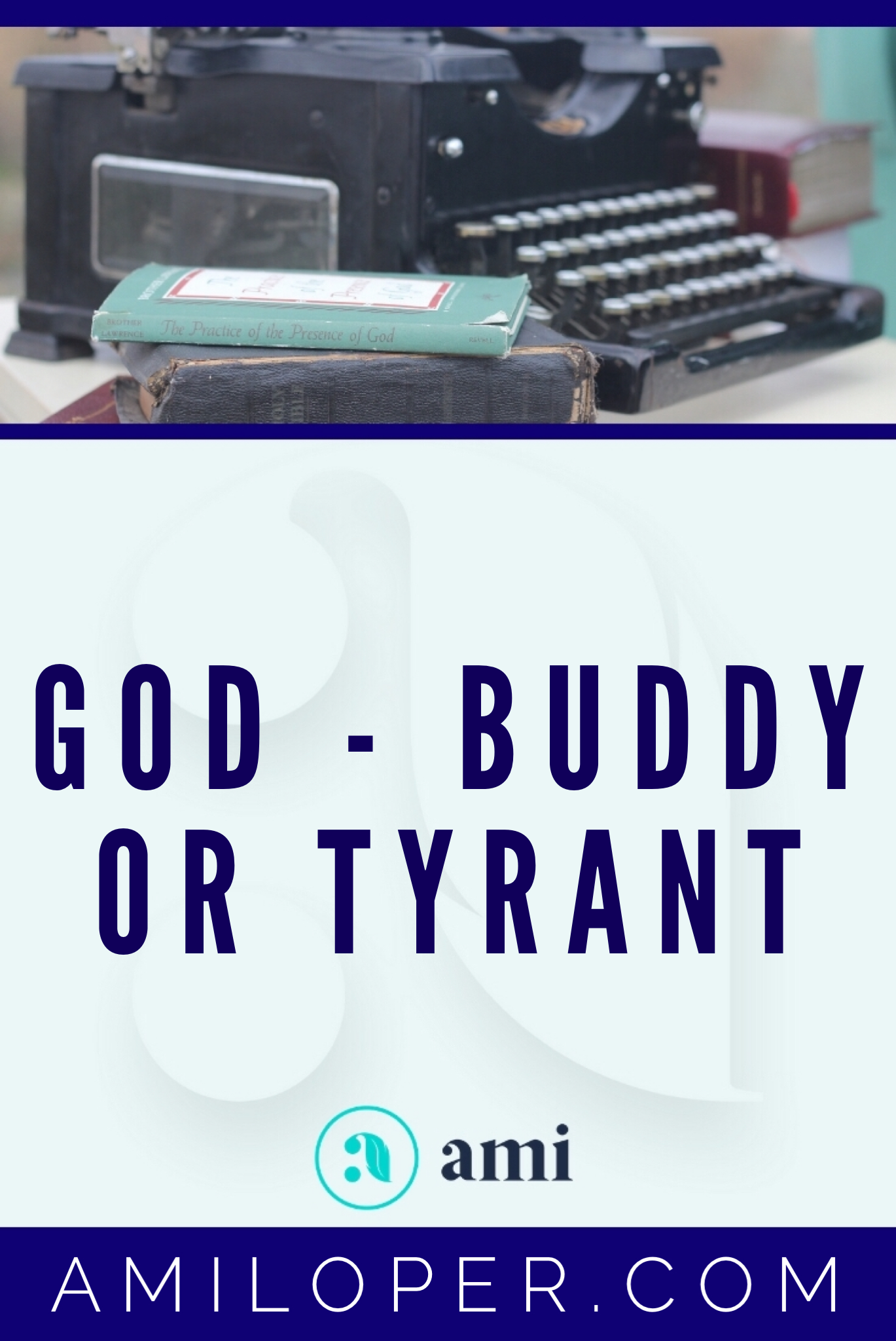 Is God our Cosmic Buddy or a Distant Tyrant? Or is He something else entirely? As humans we tend to gravitate toward one end of the spectrum or the other. But there is danger in the extremes and safety in the truth. What are those dangers and how can we reject our extremes and find the truth? #relationshipGoals #ChristianBlog