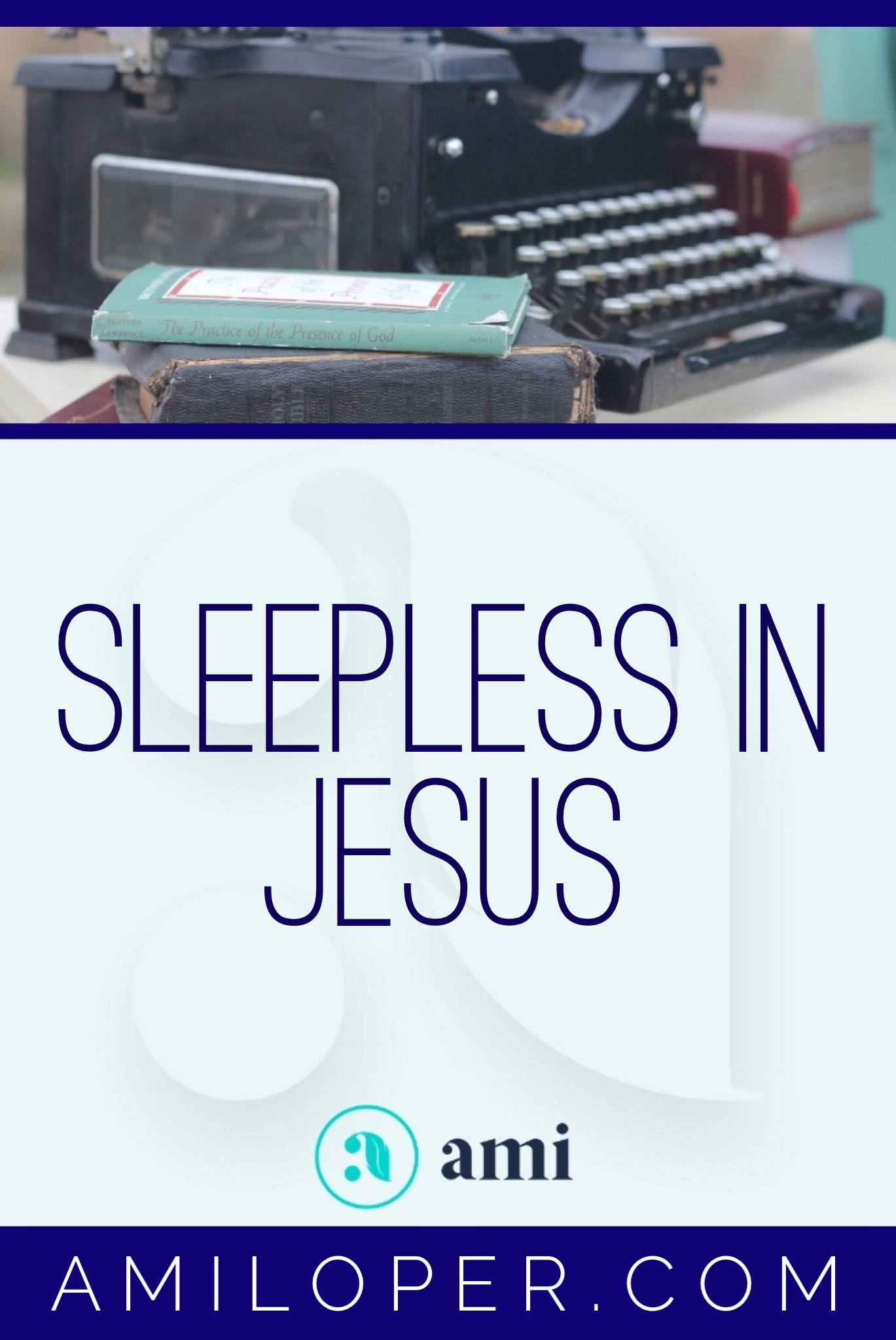 Sleeplessness. I'm sure it visits all of us at some point. Having had an unwelcome amount of experience with sleeplessness, I'm reflecting today on the conclusions people jump to, the things that hinder and some spiritual tools that help. #insomnia #ChristianBlog