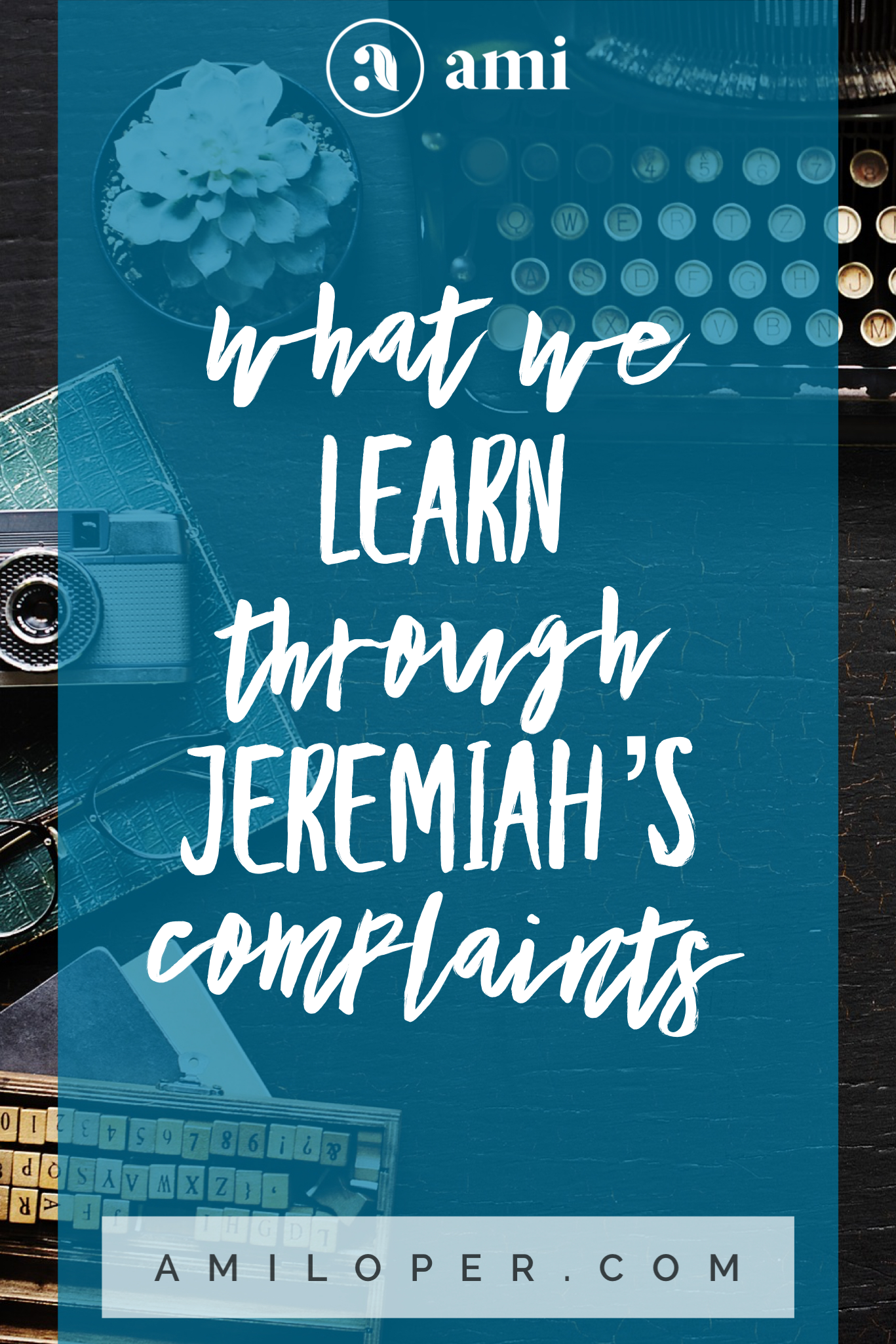 """With all my deep feelings, I relate well to Jeremiah, the Old Testament prophet who is often saddled with the moniker, """"The Weeping Prophet."""" Here's what I've learned by studying his six pain-filled and personal complaints. # Prayer #FeelingHopeless #Encouragement"""