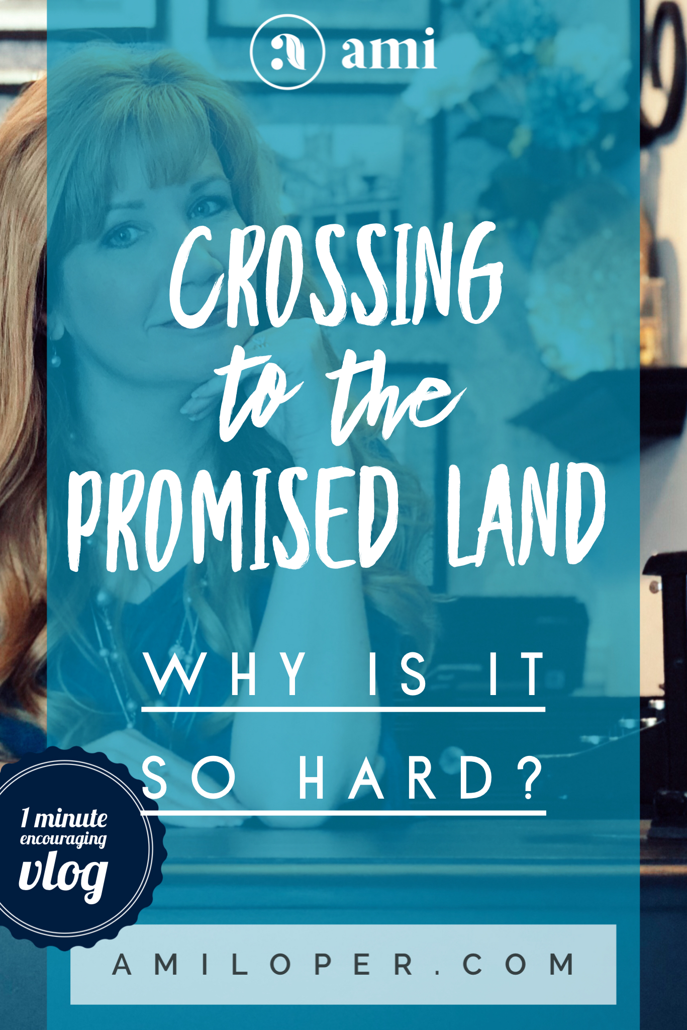 Don't you wish stepping out was easier? I know I have those moments. But our God loves to show Himself strong on our behalf - and that requires us doing things at some pretty strange moments! #PromisedLand #vlog #LifeIsHard #GodIsGood