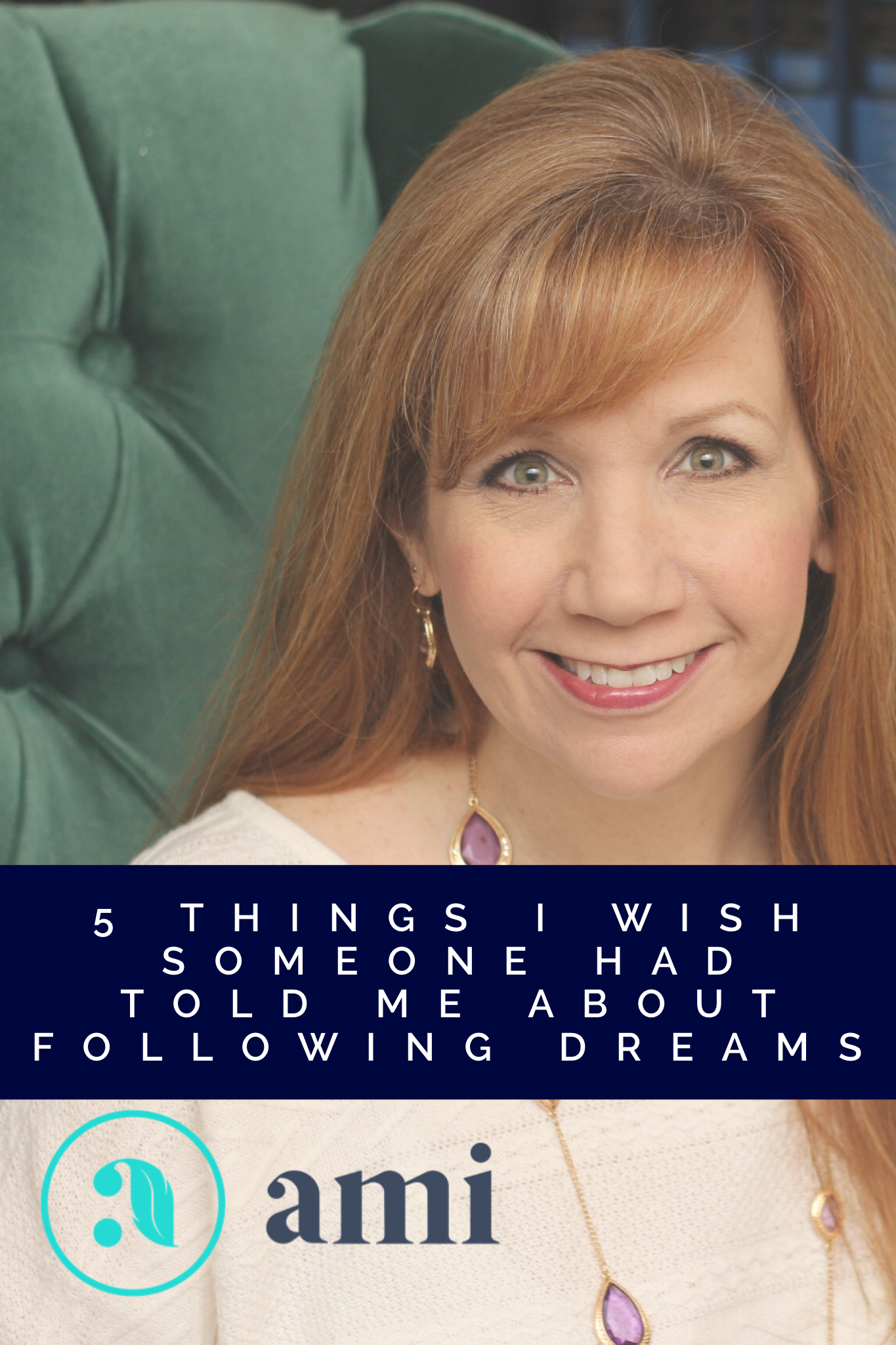 """When I fully embraced what God was calling me to do, I was met with obstacles I never expected. I share this and more in my new offer, """"5 Things I Wish Someone Had Told Me About Following My Dreams"""" (ridiculously long title, but I mean every word!). It's a jam-packed video teaching to help you, to give you the tools I wish I had had when I embarked on my journey! #LiveYourPassion #FollowYourDreams"""