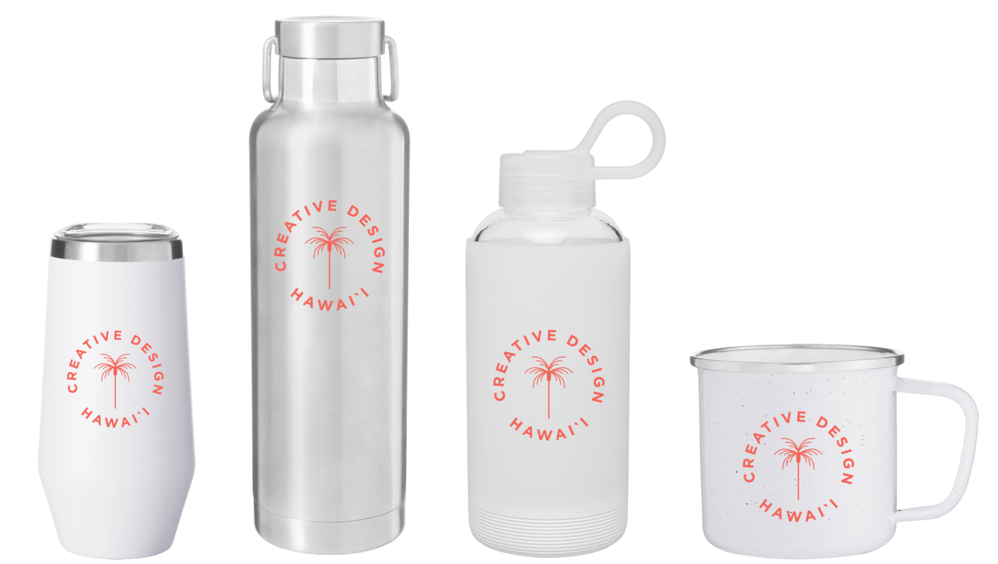 branded productsthat people will love - created with aloha