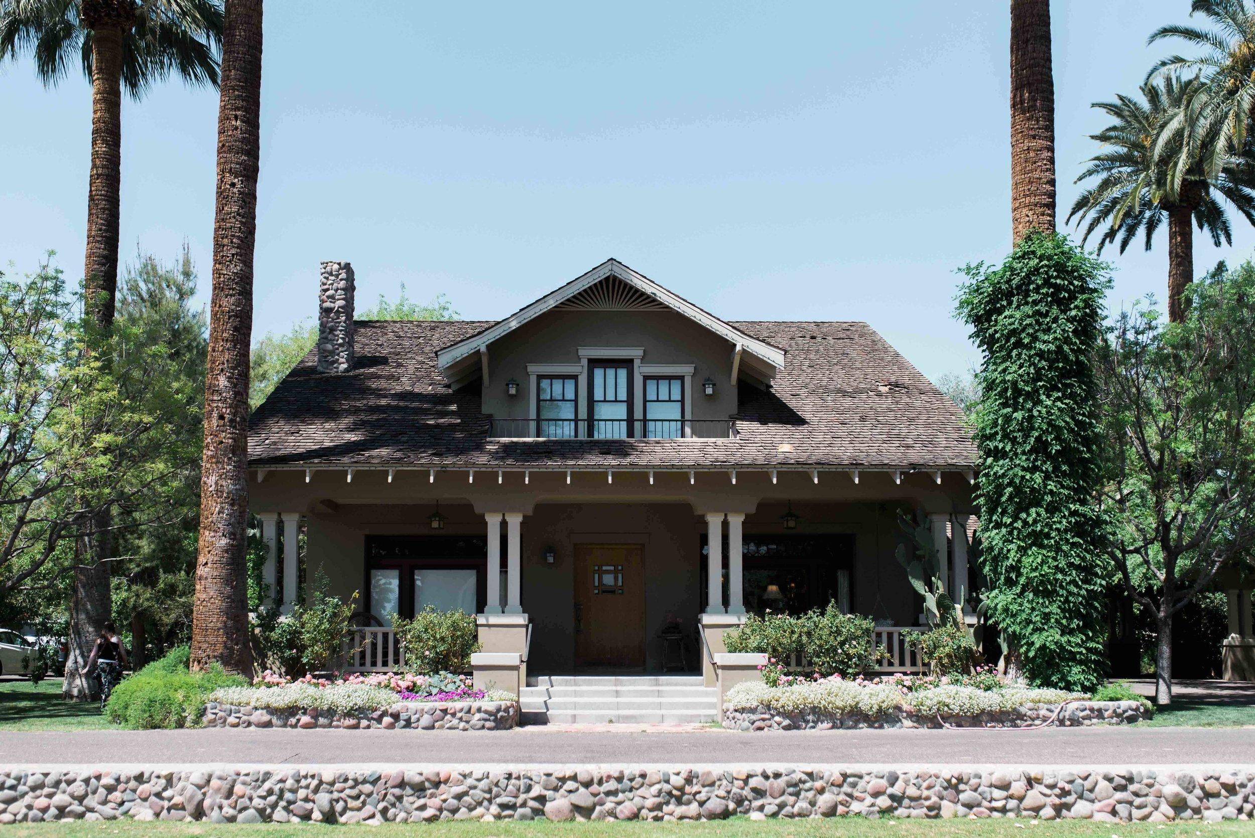 Historic Home Wedding in Phoenix Arizona