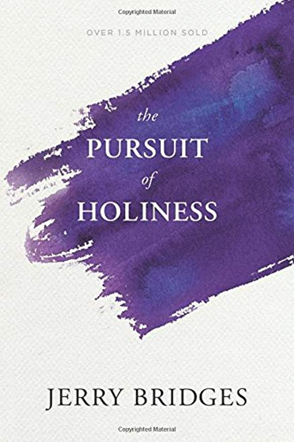 The Pursuit of Holiness - by Jerry BridgesFollowing Jesus is a lifetime pursuit and one that will impact every area of life. In pursuing God we pursue Holiness. This practical book will demonstrate how God does that in our lives and what responsibility we have to the process.