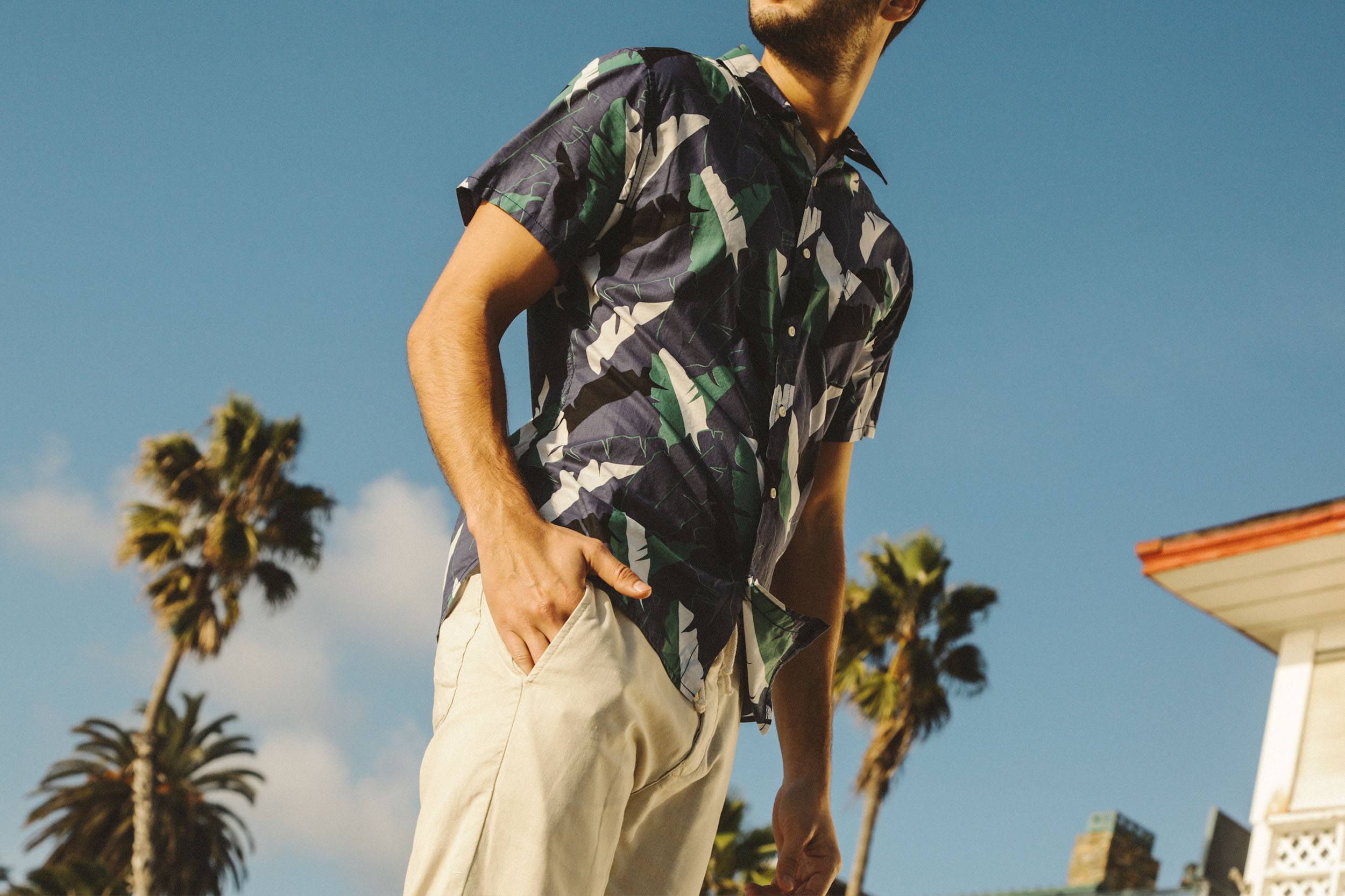Shop the Twin Palms Shirt and  Harbor Linen Pant