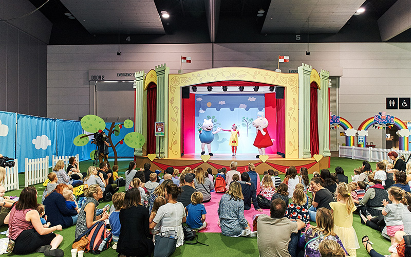 Life Like Touring - Peppa Pig Playdate -PR strategy and execution for launch event in Melbourne and national event series, including VIP high teas.Media outreach, national and local pre and post event coverage, influencer collaborations and event hosting.