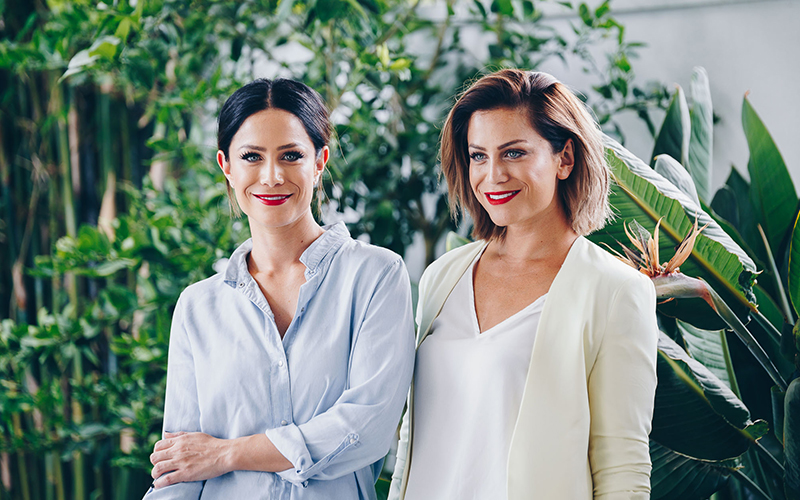 Alisa and Lysandra - 2018Brand partnerships, profile management and media outreach.