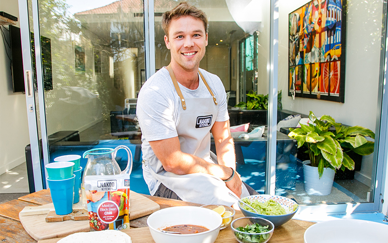 The Naked Kitchen - 2018Celebrity partnership with actor Lincoln Lewis.Content production, lunch pop-ins, media outreach and paid digital media.