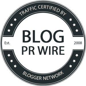 Register your blog/network on BlogPRWire.com to get this badge code on your site.