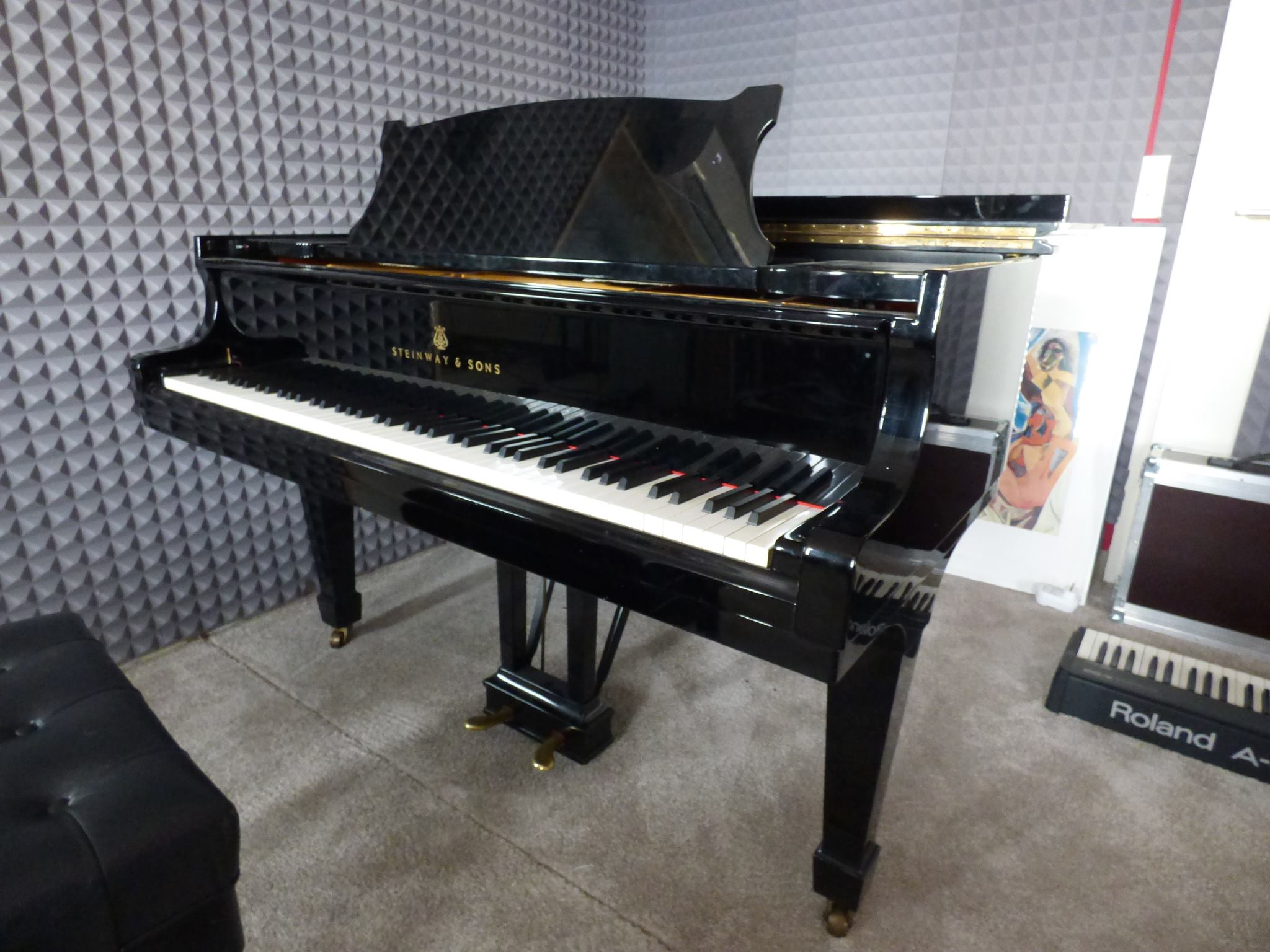 Steinway & Sons S-155. Foto: Privat