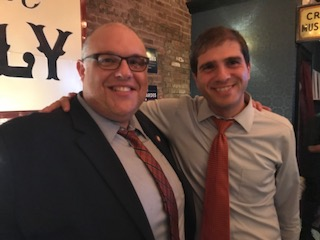 Councilman Brannan & Democratic State Senate Nominee Andrew Gounardes