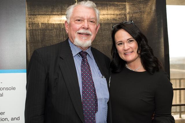 Yuri Wedmid, PhD and Renee Cruea,Executive Director - CIBR