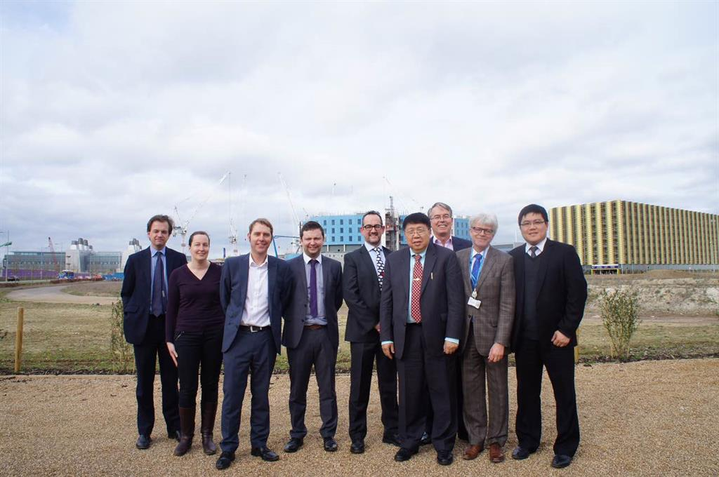 Professor Hans Hagen and his team welcomed Professor Ma at AstraZenerca site.
