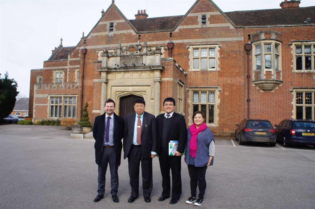 Time Medical team at Innovation Centre of Cambridge University.