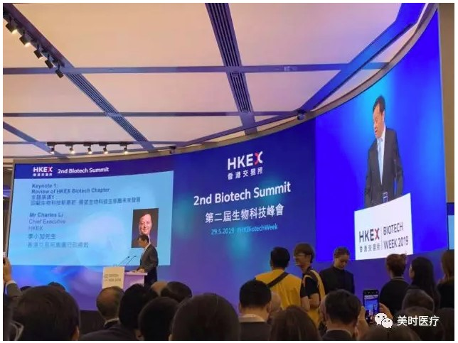 Charles Li, Chief Executive of HKEX Delivered Speech in the Opening Ceremony
