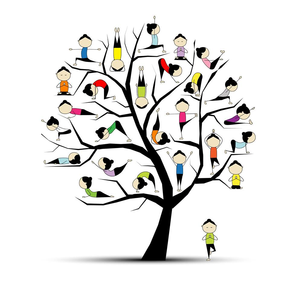 Family and kids yoga