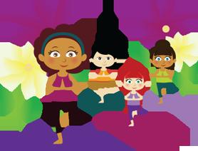 Kids and family Yoga