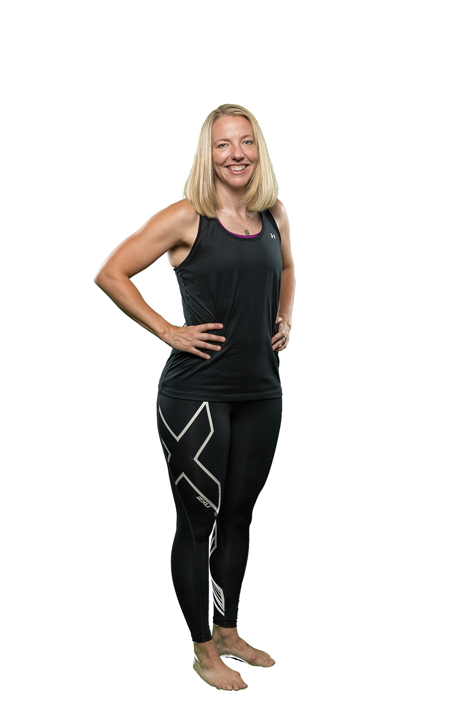 April - Sprint, RPM, BodyCombat and BodyAttack Instructor. Member of OCR team.
