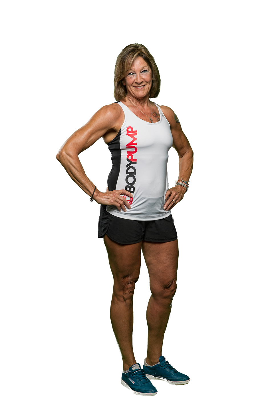 Cheryl - RPM, and BodyPump InstructorCheryl is an Ace certified personal trainer OCB Pro physique bodybuilder Nickname