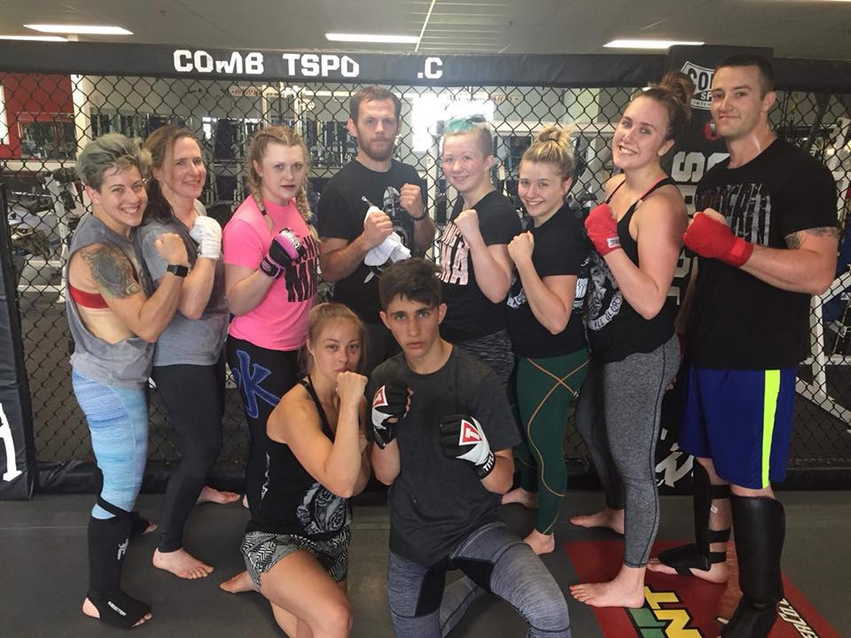 Adult Kickboxing - Kids and adults - ALL LEVELS. A martial art discipline class combining various striking arts including boxing, karate, and Muay Thai.