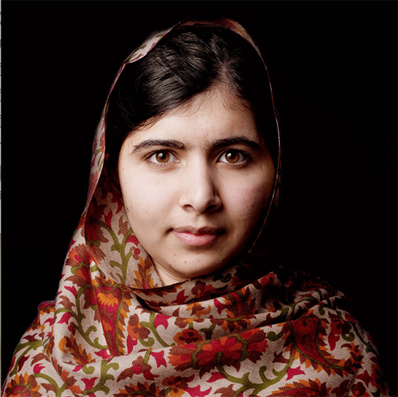 Malala Yousafzai by Kevin Abosch
