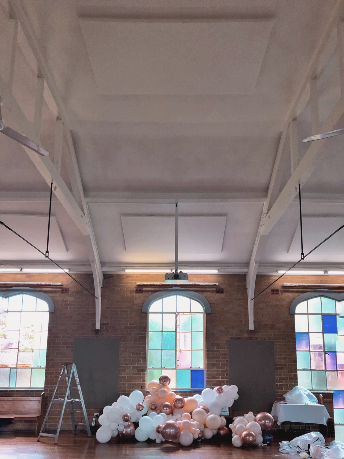 Popette Studio · behind the scenes · St. Paul's Canterbury Anglican, January 2019