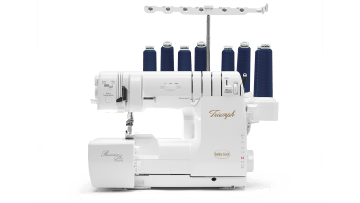 Serger - Industry leader in sergers. Our patented Extraordin-aire Threading and Automatic Thread Delivery System are just the beginning of the serger story.
