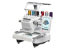 Embroidery Machines - From Single Needle to Multi-Needle, there is an embroidery machine for everyone at ESM!