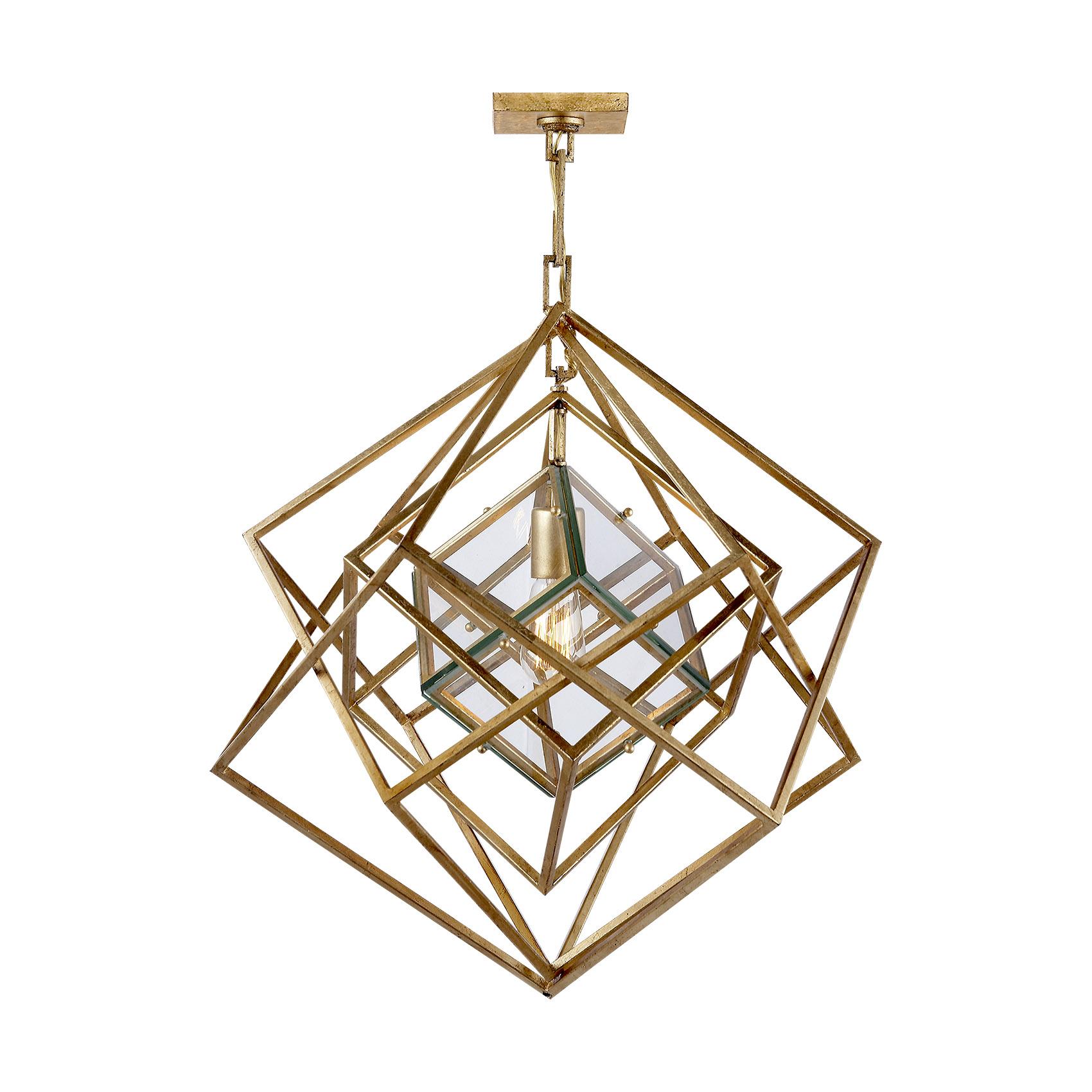 Cubist Small Chandelier in Gild.jpg