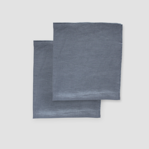 GUNMETAL | LINEN  Size: 50 x 50 cm  IDR 7,500/per piece  Qty Available: 42 pcs