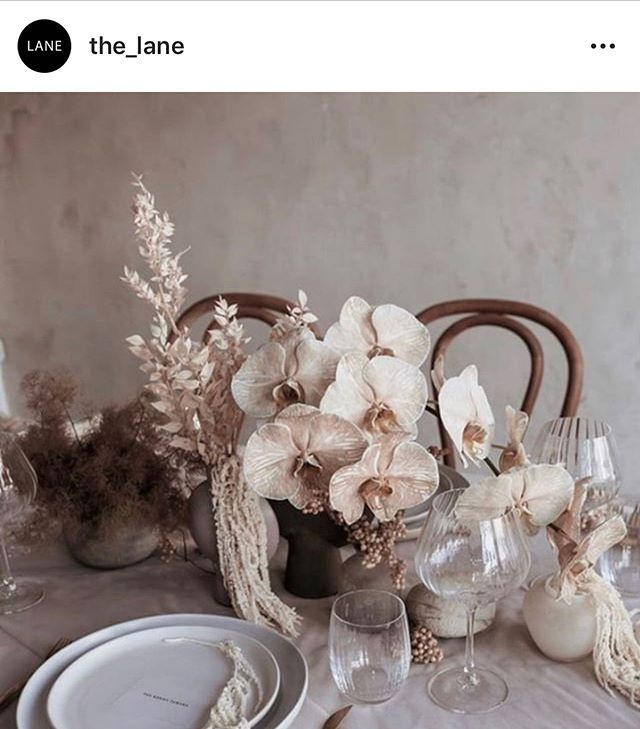 We're on @the_lane 🖤🖤🖤🖤 . Photography @jesscandradi  Creative Direction @ctheosa  Stylist @cosaprojects  Florist @mimsybotanical  Tableware @thehosttable