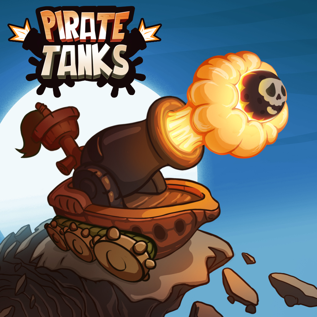 Pirate Tanks - PvP Multiplayer - Platforms - Android (To be Released)Ever wondered about Pirate Ships fusing with Tanks? Well, here you go with Pirate Tanks a refreshing take on PvP Tank combat. Position and fire away your cannons with the right power and angle and cast damages on your opponents. Make the right shots to destroy your opponent tanks! Choose from a variety of Pirate Tanks and Weapons and engage in an online Battle. Invite and play with Friends for a load of fun!