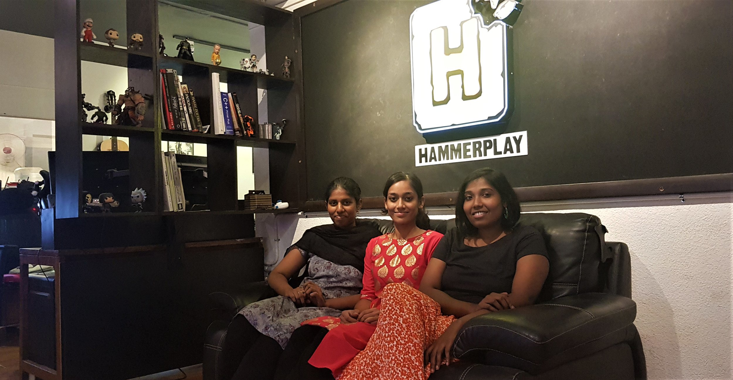Women in Game development at Hammerplay!