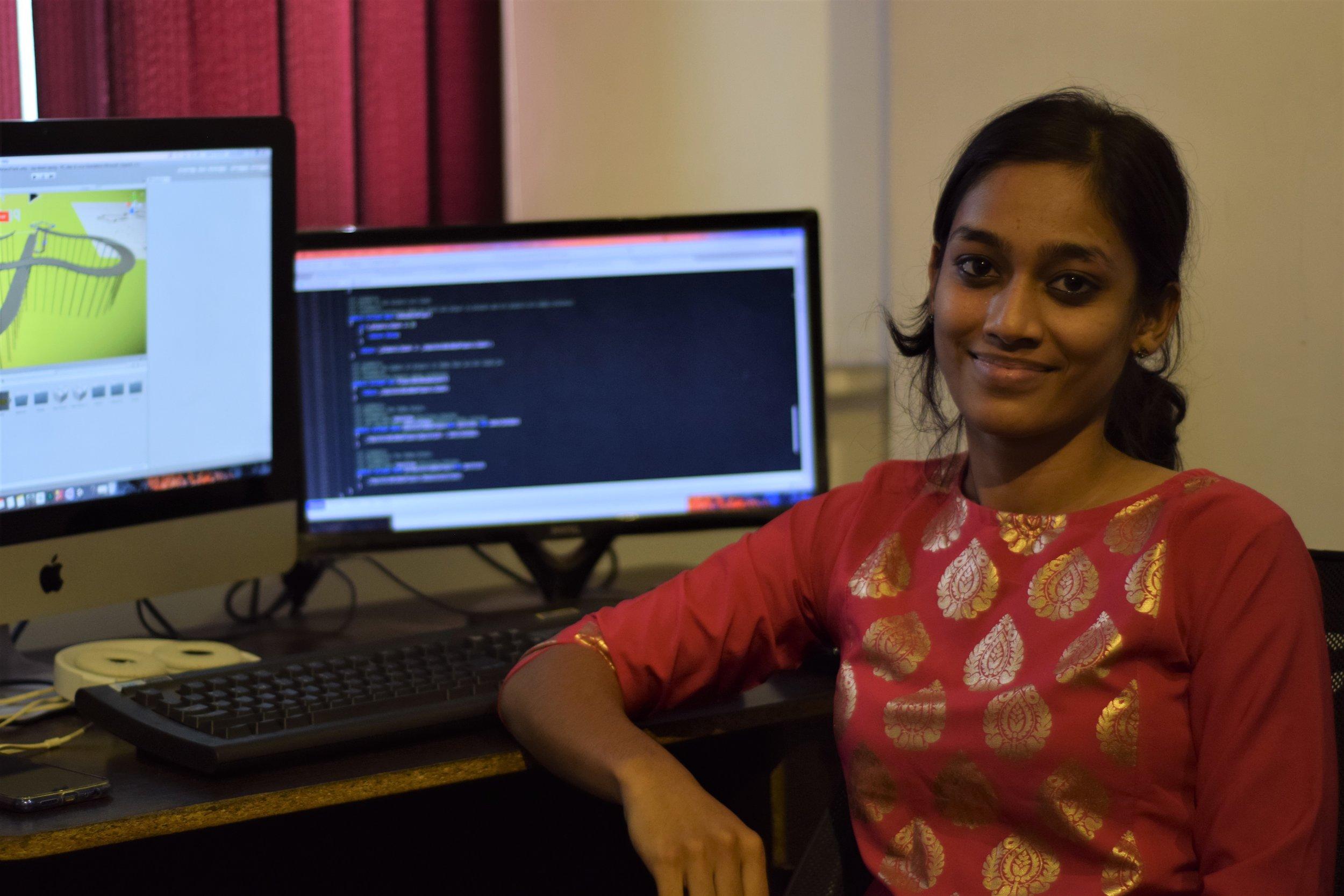 Meenakshi Kathiresan - Game Programmer