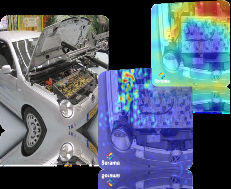 汽車發動機的聲音檢測。