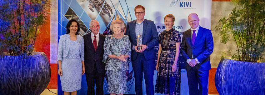 Rick Scholte wint Prins FrisoI ngenieursprijs