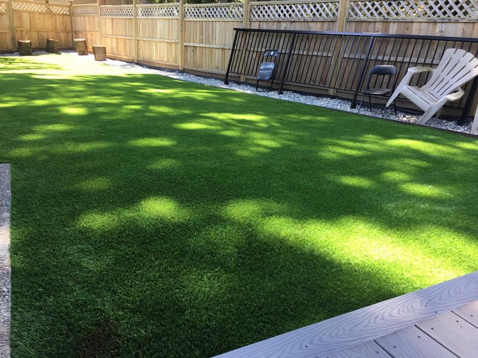 Synthetic Grass Installation by Tanner's Turf